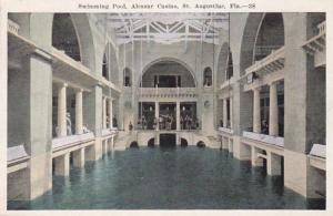 Florida St Augustine Alcazar Casino Swimming Pool