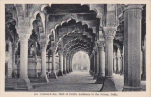 India Delhi Dewan-i-Am Hall Of Public Audience In The Palace
