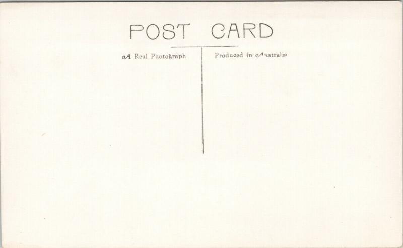 Brisbane Australia Queen St. Eversharp Pens Unused Sidues 627 RPPC Postcard E57