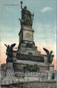 Nationaldenkmal Germany, Deutschland Postcard  Nationaldenkmal