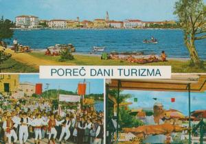 Porec Dani Tourizma Croatia Postcard
