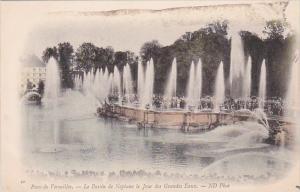 France Parc de Versailles Bassin de Neptune le Jour des Grandes Eaux