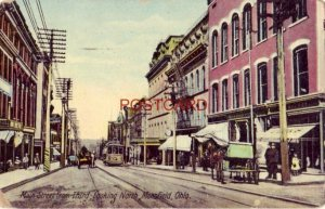 1909 MAIN STREET FROM THIRD LOOKING NORTH, MANSFIELD, OHIO