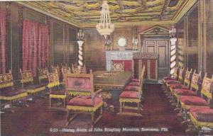 Florida Sarasota Dining Room John Ringling Mansion Curteich