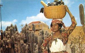 Native Fruit Girl Curacao, Netherlands Antilles Unused