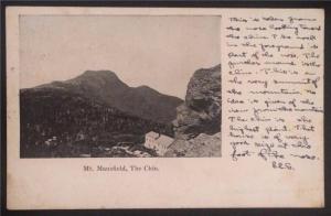 Mt. Mansfield, The Chin, Vermont 1904