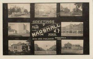 RP: MARSHALL , Minnesota , 1910 ; 8 View PC