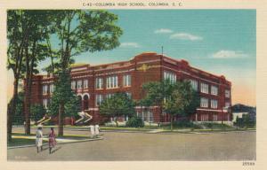 COLUMBIA , South Carolina , 30-40s ; Columbia High School
