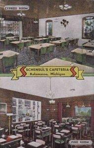 Michigan Kalamazoo Cypress Room Pine Room Schensuls Cafeteria