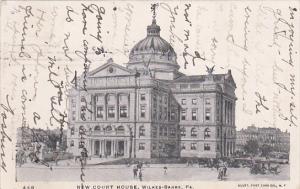 New Court House, WILKES-BARRE, Pennsylvania, PU-1906