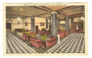 Interior, Lobby, The Imperial Hotel , Portland, Oregon, 00-10s