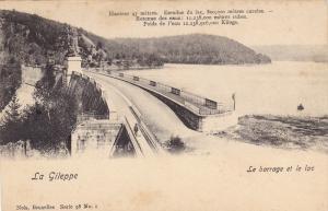 La Gileppe , Le barrage et le lac , Belgium , 1890s