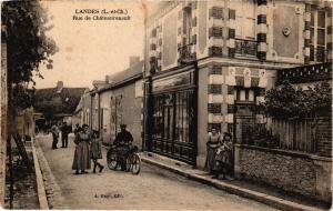 CPA Landes (L.-et-Ch.) - Rue de Chateaurenault (208693)