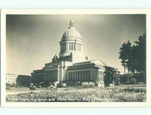 Pre-1950 rppc NICE VIEW Olympia Washington WA i9883