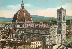 Postcard Modern Firenze panorama of the cathedral