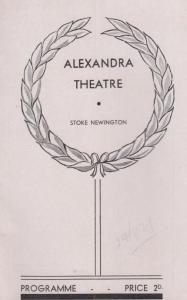 The Fanatics Philip Weathers WW2 Comedy Stoke Newington London Theatre Programme