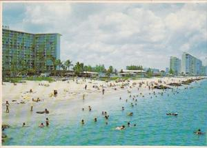 Florida Deerfield Beach Golden Sand And A Well Protected Shoreline Combine To...