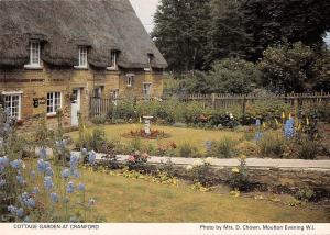 B100628 cottage garden at cranford