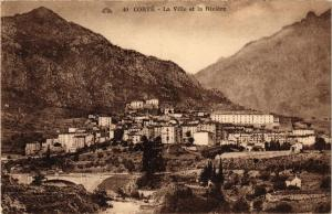 CPA CORSE Corte- La ville et la Riviére. (711566)