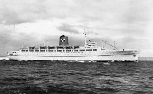 Canada - RMS Empress of England  *RPPC