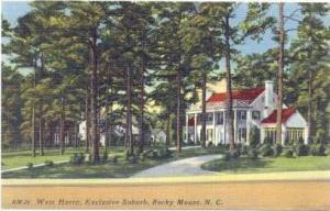 West Haven, Exclusive Suburb, Rocky Mount,  North Carolina,30-40s