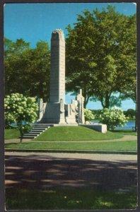 New Brunswick FREDERICTON War Memorial Courtesy N.B. Gov't Travel Bureau Chrome