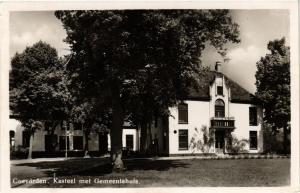 CPA Coevorden Kasteel met Gemeentehuis NETHERLANDS (728977)