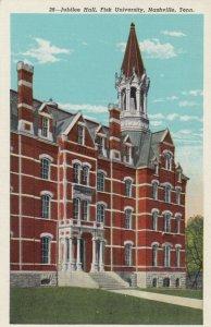 NASHVILLE, Tennessee, 1910s ; Jubilee Hall , Fisk University