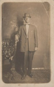 RP: Man in suit , 1900-10s