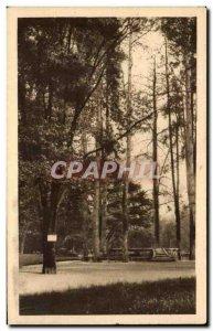 Old Postcard Tarbes Massey Garden Kiosk