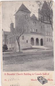 Beautiful Church Building in Canada built of Miracle Blocks, PU-1907