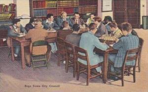 Nebraska Boys Town City Hall 1950