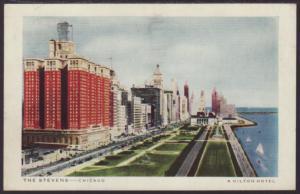 The Stevens Hotel,Chicago,IL Postcard