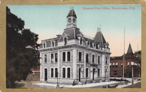 General Post Office, Sherbrooke, Quebec, Canada, PU-1951