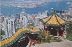 #89: Bird´s Eye View of Hong Kong & Kowloon from the Peak, China