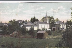MARKHAM , Ontario , PU-1906;  Grace Church and Rectory