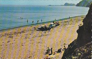 Canada Quebec Beach At Grindstone Magdalen Islands