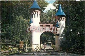 Postcard Modern Montreal quebec children s zoo the children Lafontaine park zoo