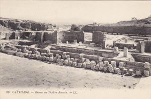 Tunisia Carthage Ruines du Theatre Romain