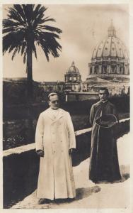 Pope Pio Pius XI Italian Papal Roman Vatican Italy Old Postcard