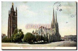Postcard Old Bordeaux Cathedrale Saint Andre