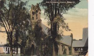 Exterior,Zion Episcopal Church,Rome,New York,PU-1909