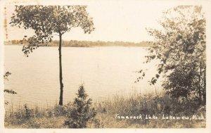 LPM37 Lakeview Tamarack Lake   Michigan RPPC Postcard