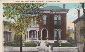 15487 IN Indianapolis    Jame´s Whitcomb Riley´s Residence