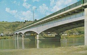 KAMLOOPS, British Columbia, Canada, 1950-1960's; View Under A Bridge