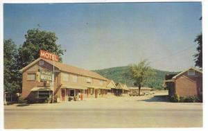 Hot Springs AR Pike Motel Coke Machine Old Cars near National Park Postcard