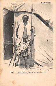 Djibouti Abane Issa, Chef de Caravane, Native Man