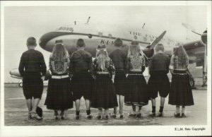 Commercial Aviation KLM Royal Dutch Airlines Lockheed Constellation RPPC