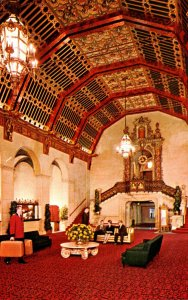 California Los Angeles The Biltmore Hotel Lobby
