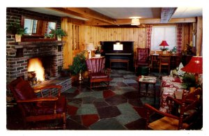 NY - Lake Placid. The Homestead, Lower Lounge & Game Room